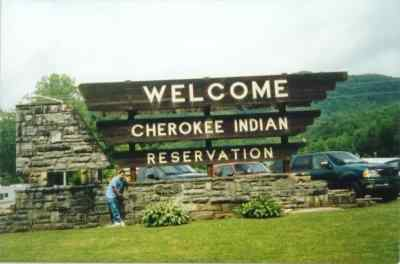Cherokee Indian Reservation